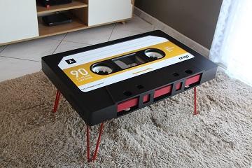 Table cassette personnalisable