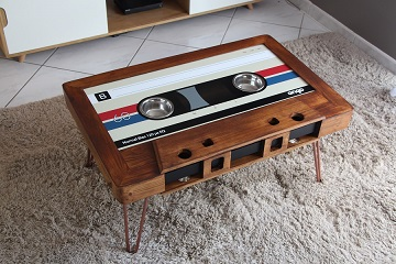 Table cassette personnalisable